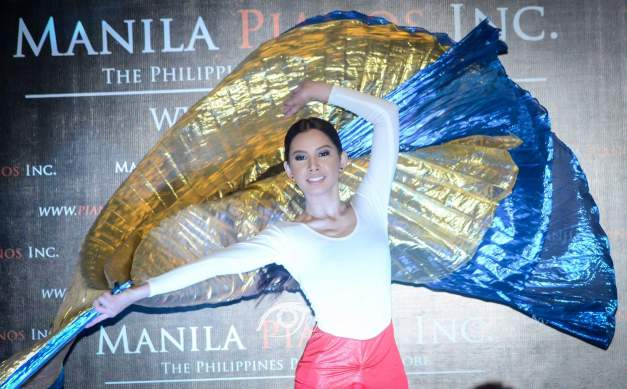 Kiara Giel Gregorio in her wavy number (Photo credit: Joy Arguil)