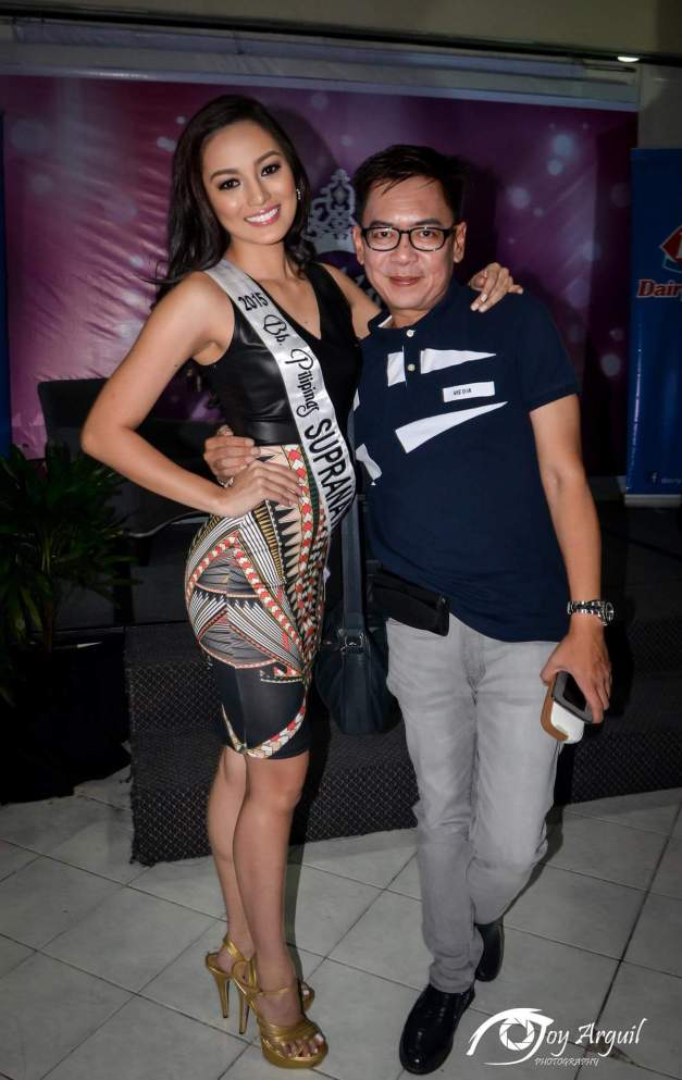 Rogelie will offer her Miss Supranational 2015 mission to the late Rizzini Alexis Gomez. (Photo credit: Joy Arguil)