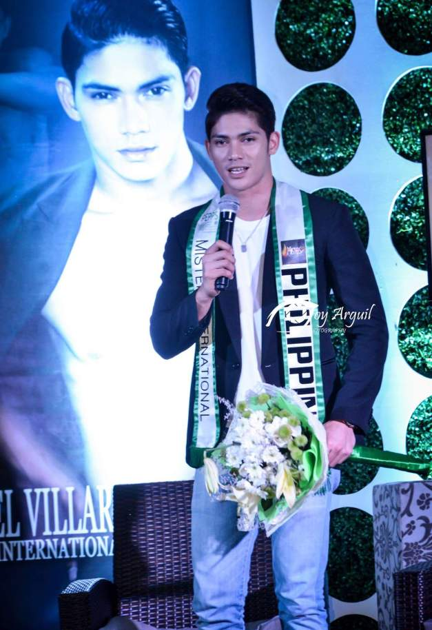 While Mister International 2015 will be hosted here in Manila, Mister International Philippines 2015 Reniel Villareal was also given a proper send-off (Photo credit: Joy Arguil)