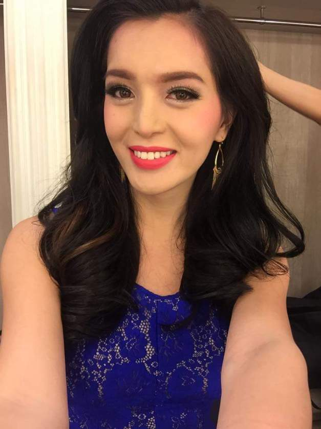 Miss Philippines Trixie Maristela for Miss International Queen 2015