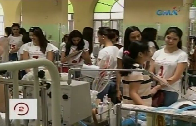 The Miss World Philippines 2015 Official Candidates visit PGH
