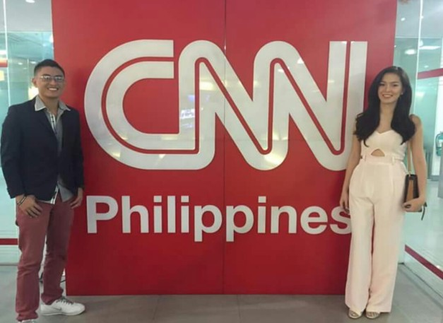 Art and Trixie promoted the book on CNN Philippines