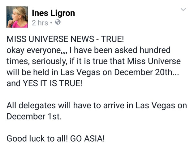 Ines Ligron knows how to fan the flames of excitement by jumping the gun on everyone