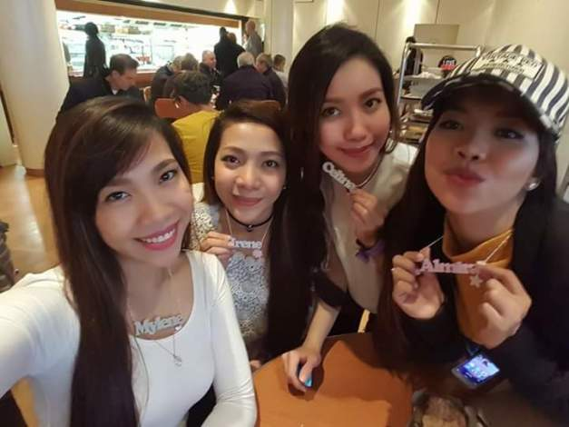 Left-to-right: Mylene, Irene, Celina and Almira make up 4th Impact