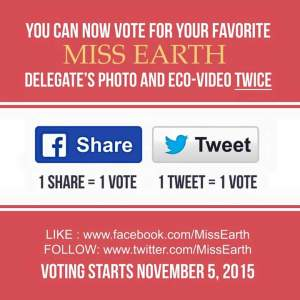 Vote for your favorite Eco-Beauty Video via Facebook and Twitter