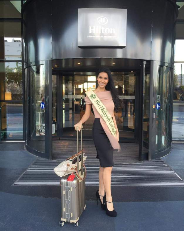 Miss Philippines Angelia Ong has officially checked-in for Miss Earth 2015