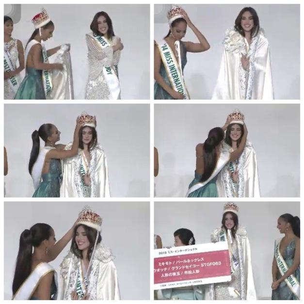 The crowning moments of Edymar Martinez, Miss International 2015