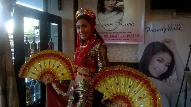 Christianne Ramos, Charity Queen International Philippines 2015 (Photo credit: OPMB Worldwide)