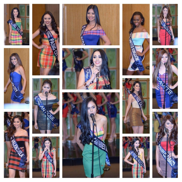 I took the liberty of naming my Top 15 instead of just a dozen from among the 35 Official Candidates of Miss Republic of the Philippines 2015 (Photo credit: Lito Caleon)
