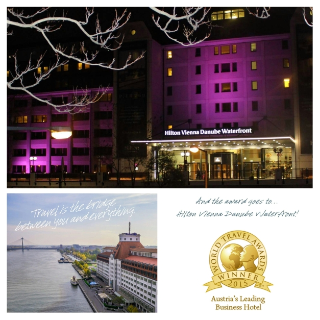 The Hilton Vienna Danube Waterfront - home of the Miss Earth 2015 candidates