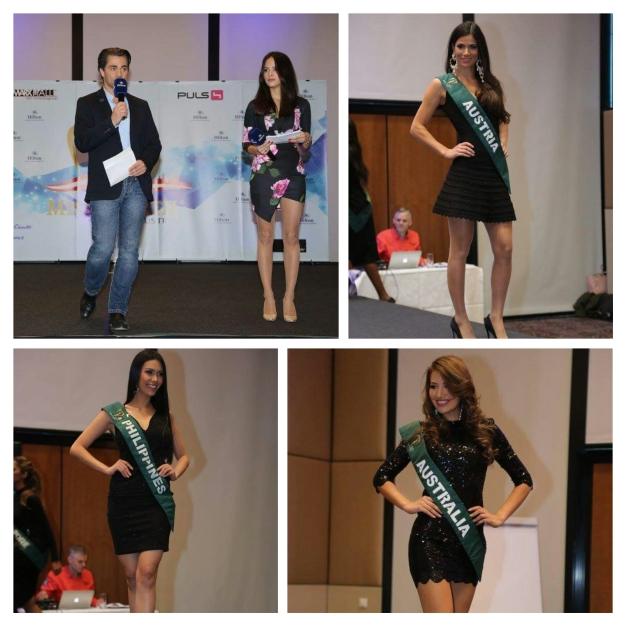 The Miss Earth 2015 Press Presentation at Hilton Vienna Danube Waterfront
