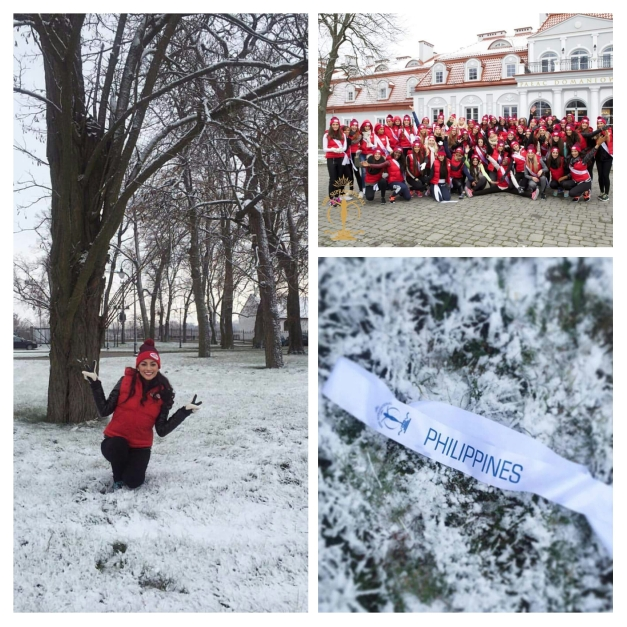 Winter has arrived in Poland for the Miss Supranational 2015 Candidates