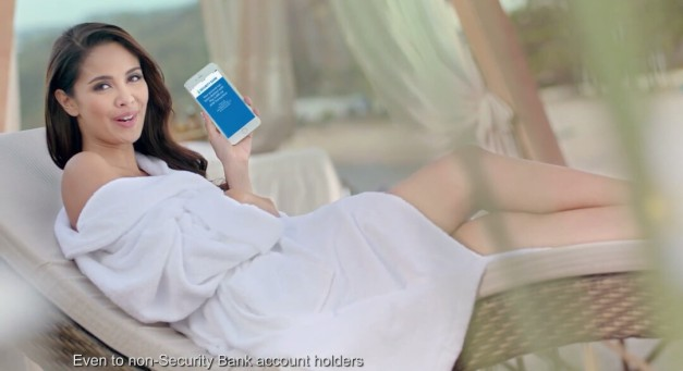 Screenshot from the latest TVC of Miss World 2013 Megan Young for Security Bank