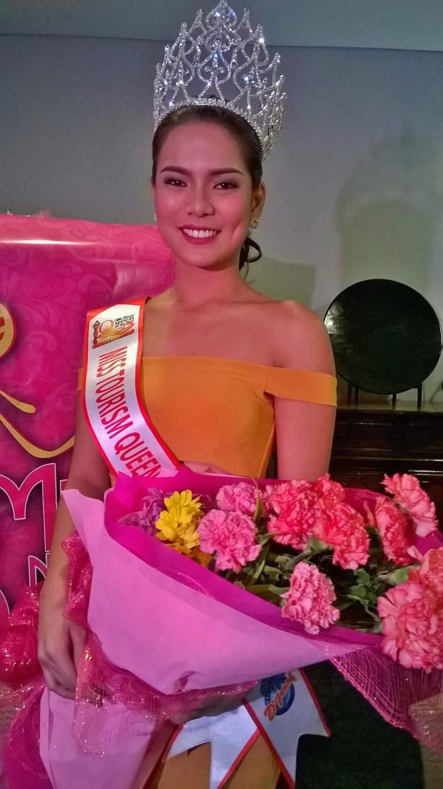 Miss Tourism Queen of the Year International 2015/16 Leren Mae Bautista is back in Manila. (Photo credit: OPMB Worldwide)