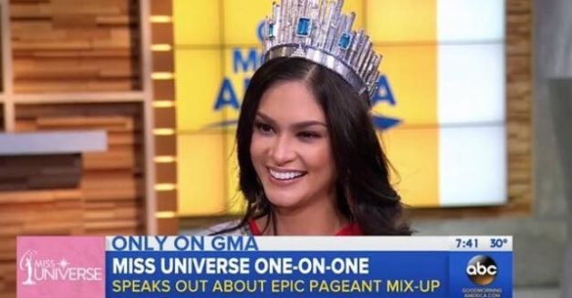 Pia on Good Morning America