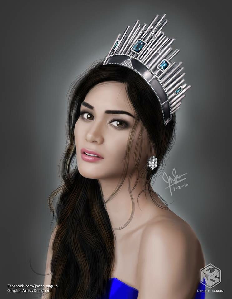Fan Arts For Miss Universe 2015 Pia Alonzo Wurtzbach