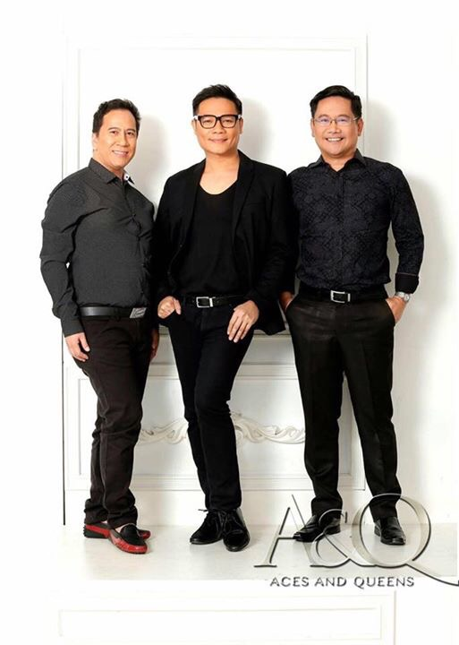 The starting pillars of Aces&Queens (left-to-right): Arnold Mercado, Jonas Gaffud and Atty. Nad Bronce