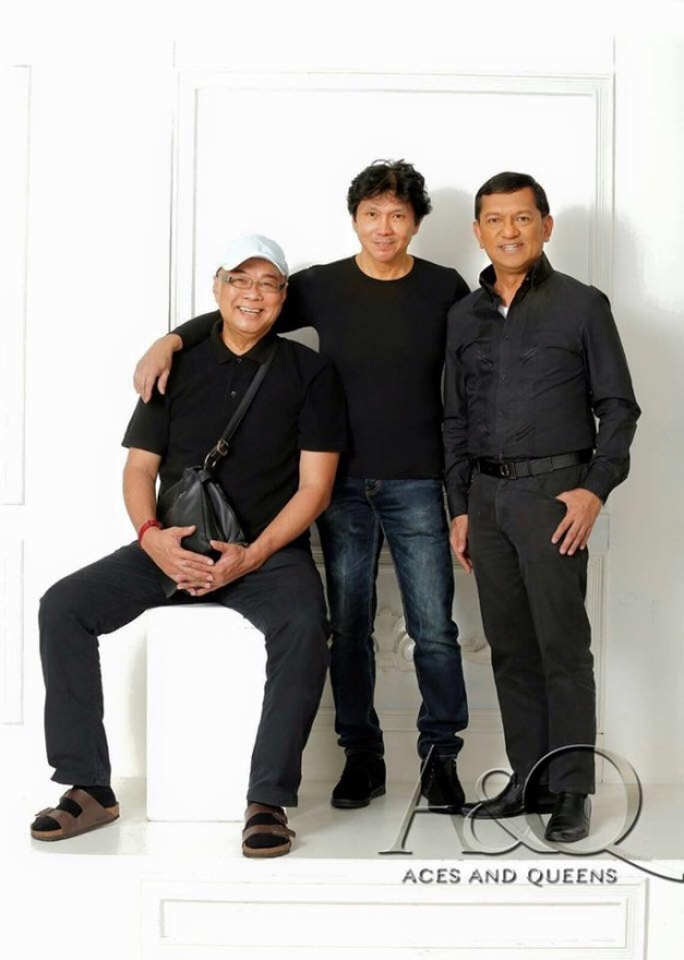 The Wisdom of the Senior Advisers (left-to-right): Cesar Evangelista, Boyet Blas and Gerry Diaz