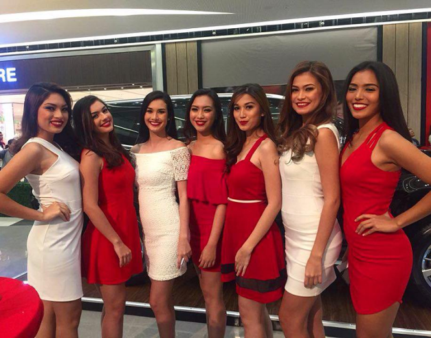 Left to right: Monica Tawide, Cynthia Thomalla, Steffi Aberasturi, Kristine Beltran, Jessa Cariaga, Daina Nelson and Maria Gigante