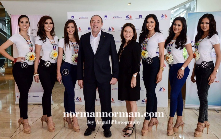 Bb. Pilipinas 2017 Photo Blog: Sponsor Visit at AXA Philippines | normannorman.com