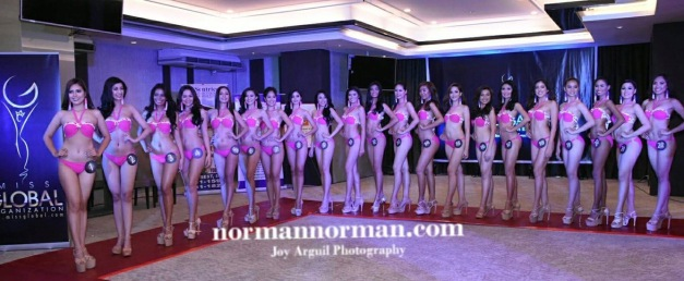 The Official Candidates of Miss Global Philippines 2017