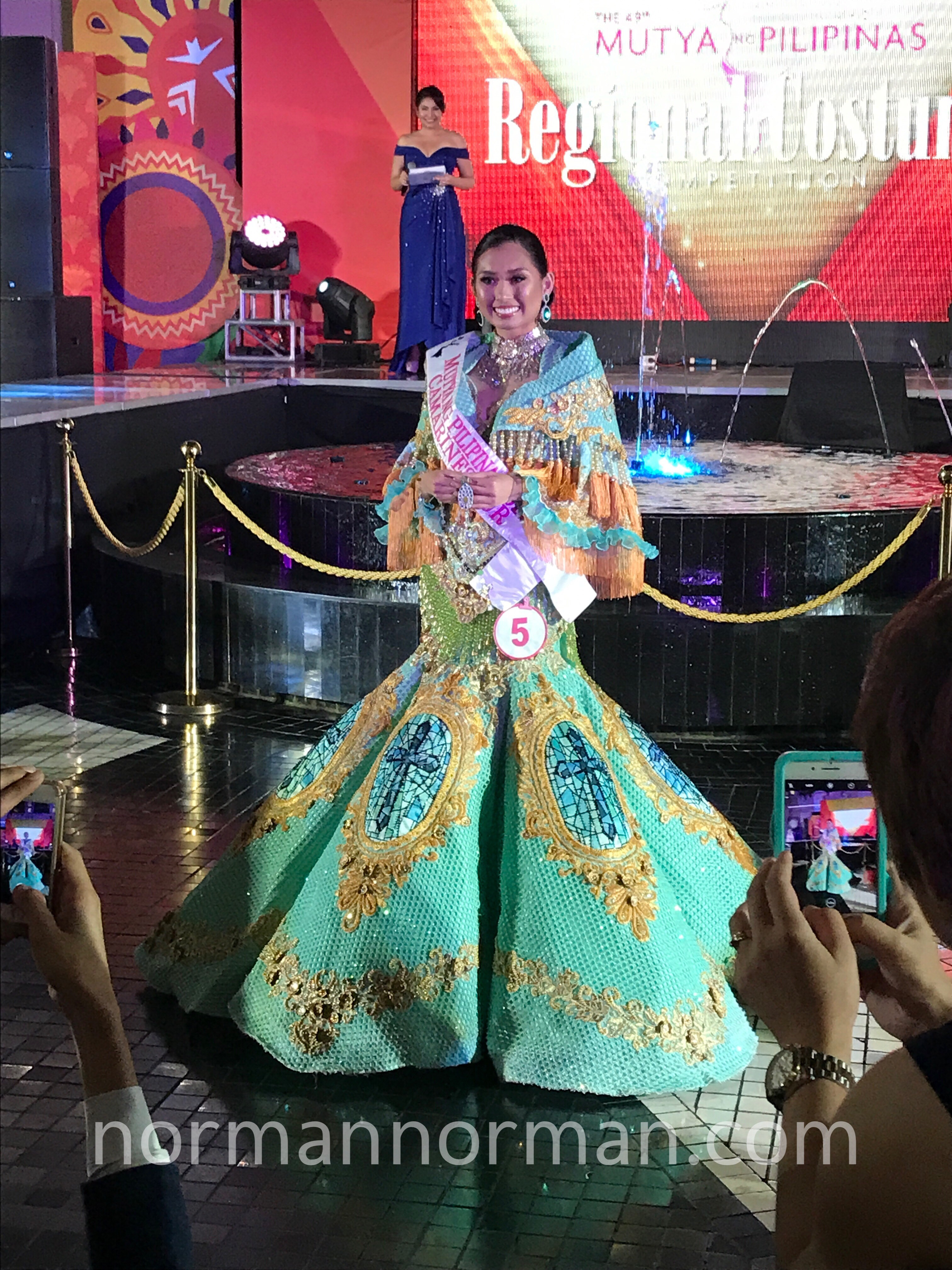 f4cf75ccc2 The Mutya ng Pilipinas 2017 Regional Costume Competition