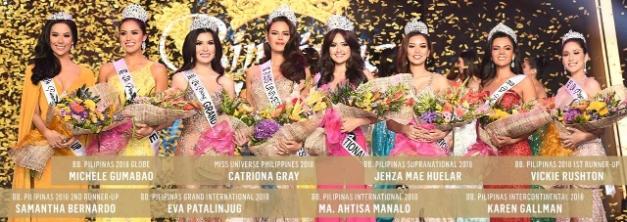 4e9bdcd8c3 Bb. Pilipinas 2018 Winners!