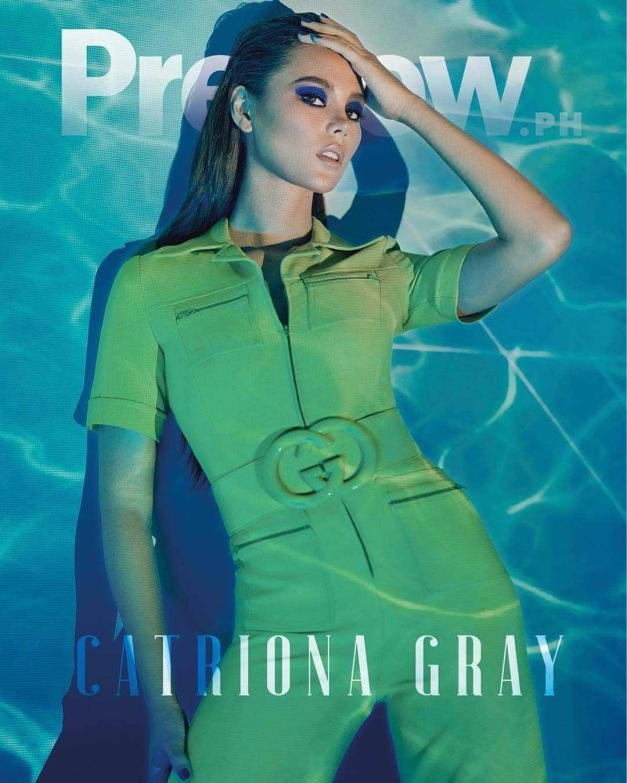 catriona gray for preview magazine