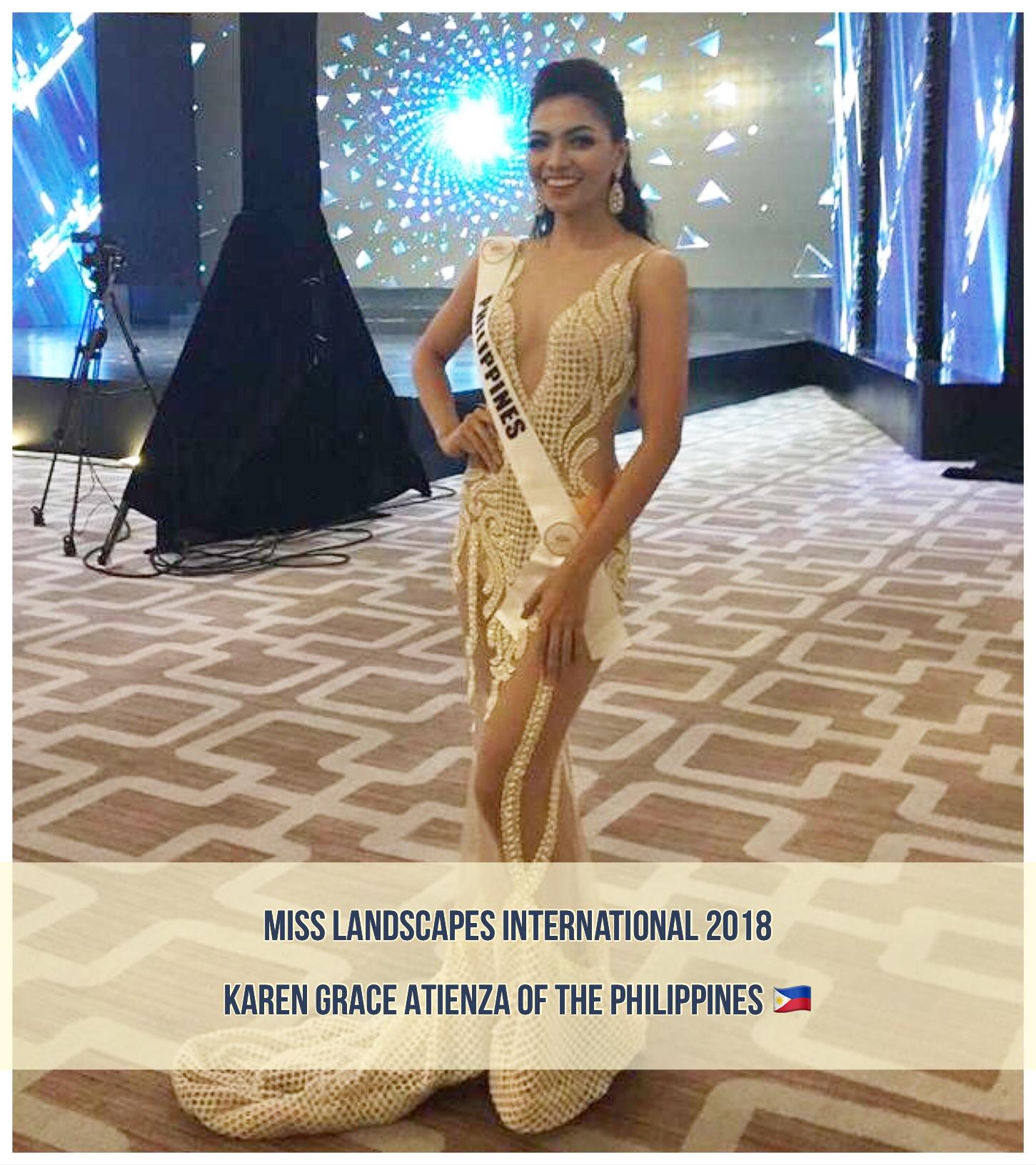 Karen Grace Atienza Of The Philippines Wins Miss