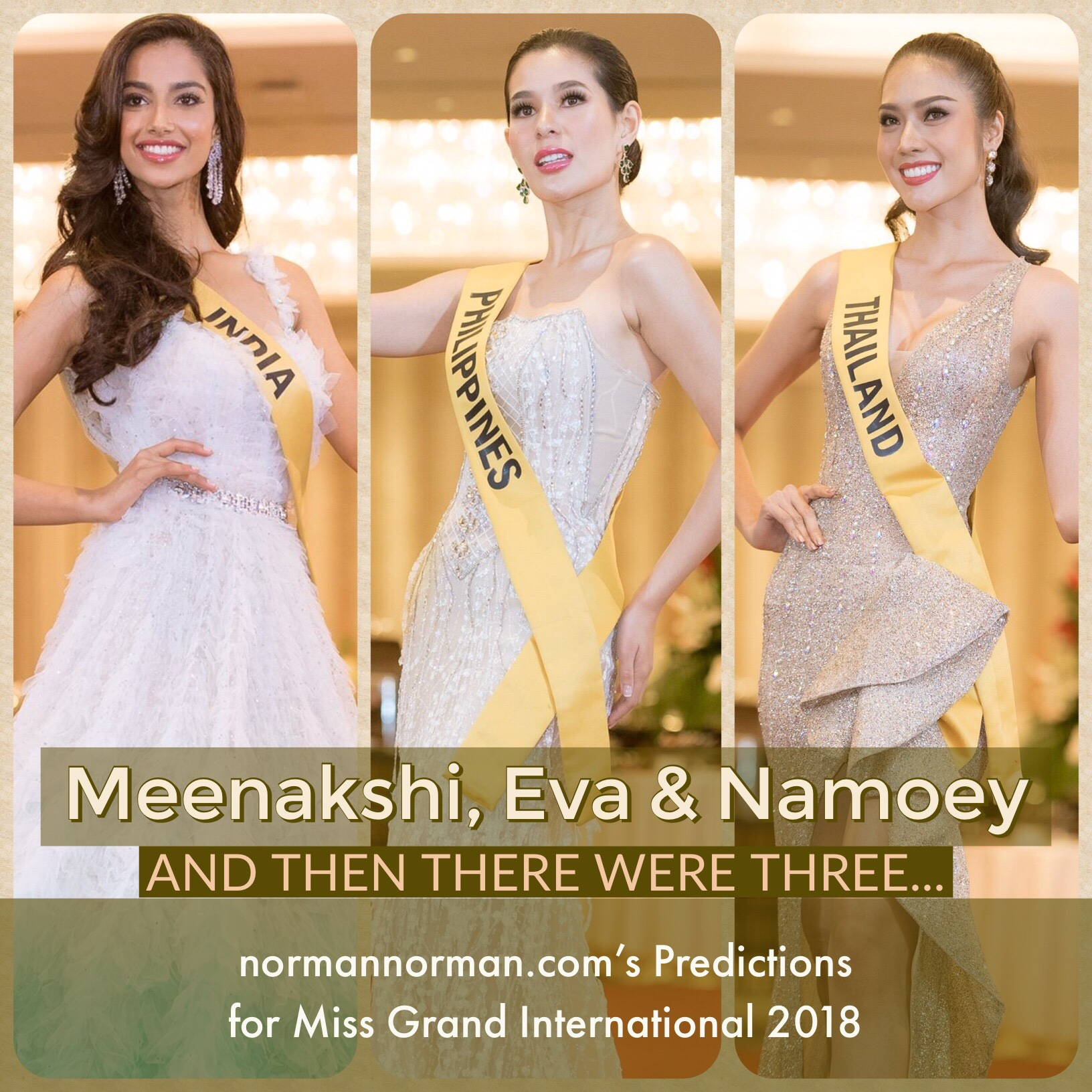 normannorman com's Top 10 Predictions for Miss Grand
