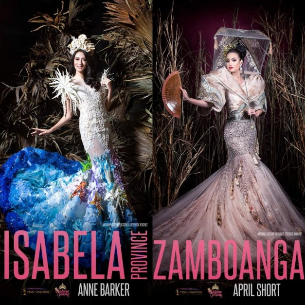 Bb  Pilipinas 2019 candidates in their National Costumes