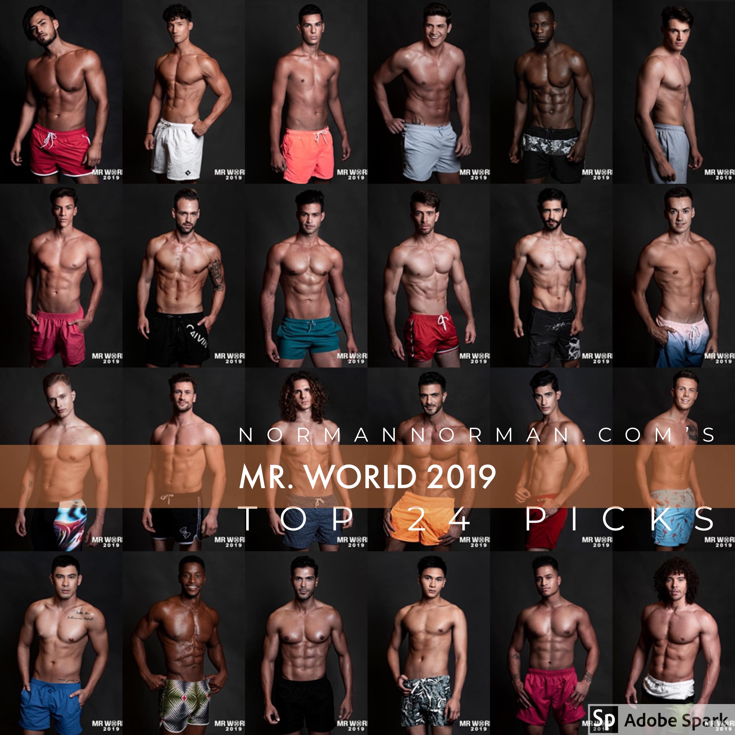 Mr world 2019
